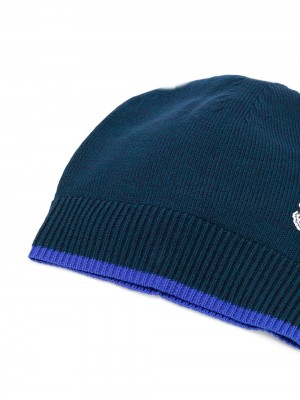 Tiger Embroidery Beanie Hat