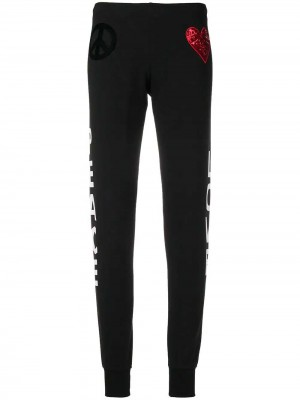 Pants with Heart and Logo