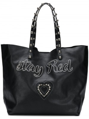 Stay Red Patch Bag