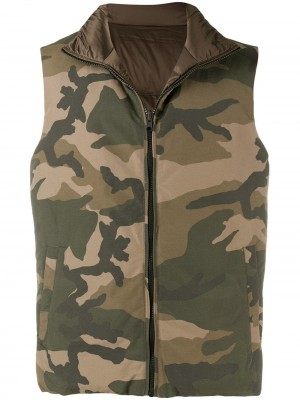 Gilet WOOLRICH Brown camou