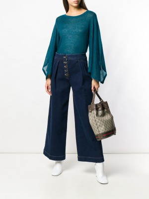 Maglia MICHAEL by MICHAEL KORS Luxe teal