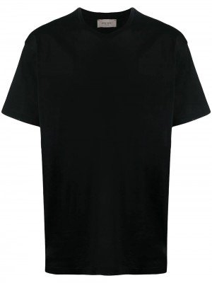 T-shirt LOW BRAND Black UOMO LOW BRAND JET BLACK - Black