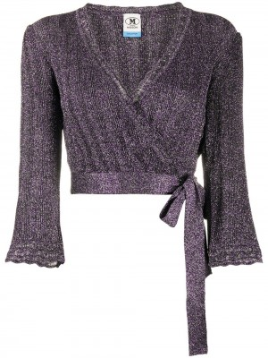 Cardigan MISSONI Purple