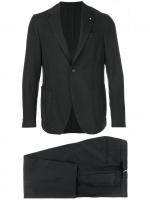Lardini Cotton Wool Suit - Suits