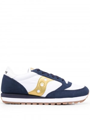 Scarpe SAUCONY White navy gold