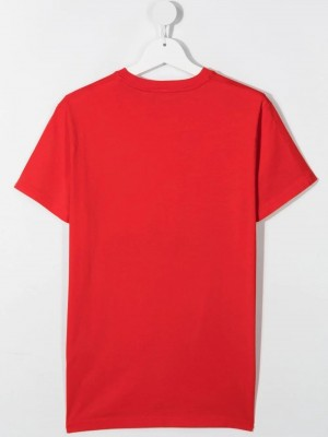 T-shirt DSQUARED2 KIDS Risk red TEENAGER M DSQUARED2 KIDS DQ414 - Risk red