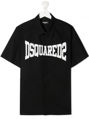 Camicia DSQUARED2 KIDS Black