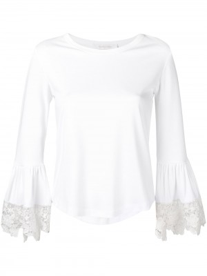 See By Chloe' Blouse with Lace Cuffs - Shirts