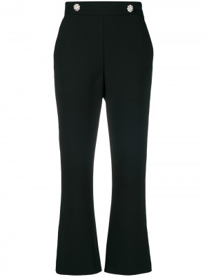 MSGM Jewel Button Trousers - Trousers