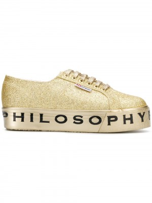 All Over Glitter Sneakers