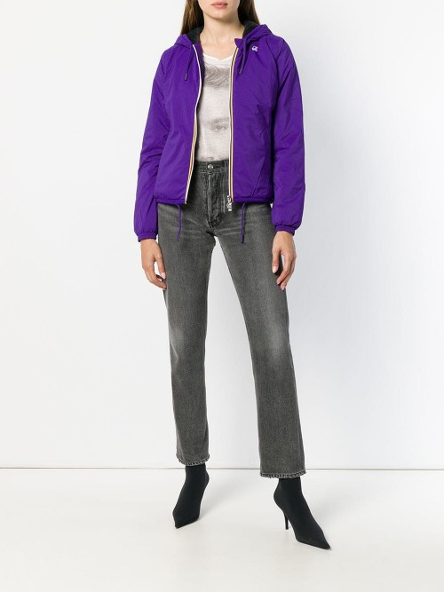 Giubbotto K-WAY Violet grey DONNA K-WAY 943 - Violet grey