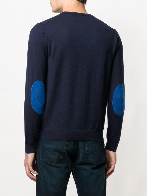 Contrasting Patches Jumper