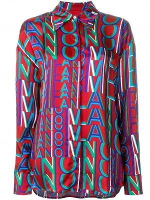 All Over Milano Lettering Shirt