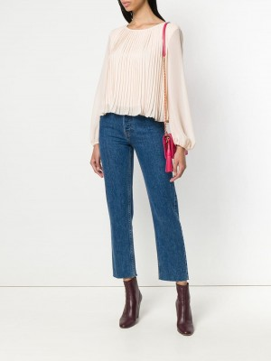 Pleated Design Blouse