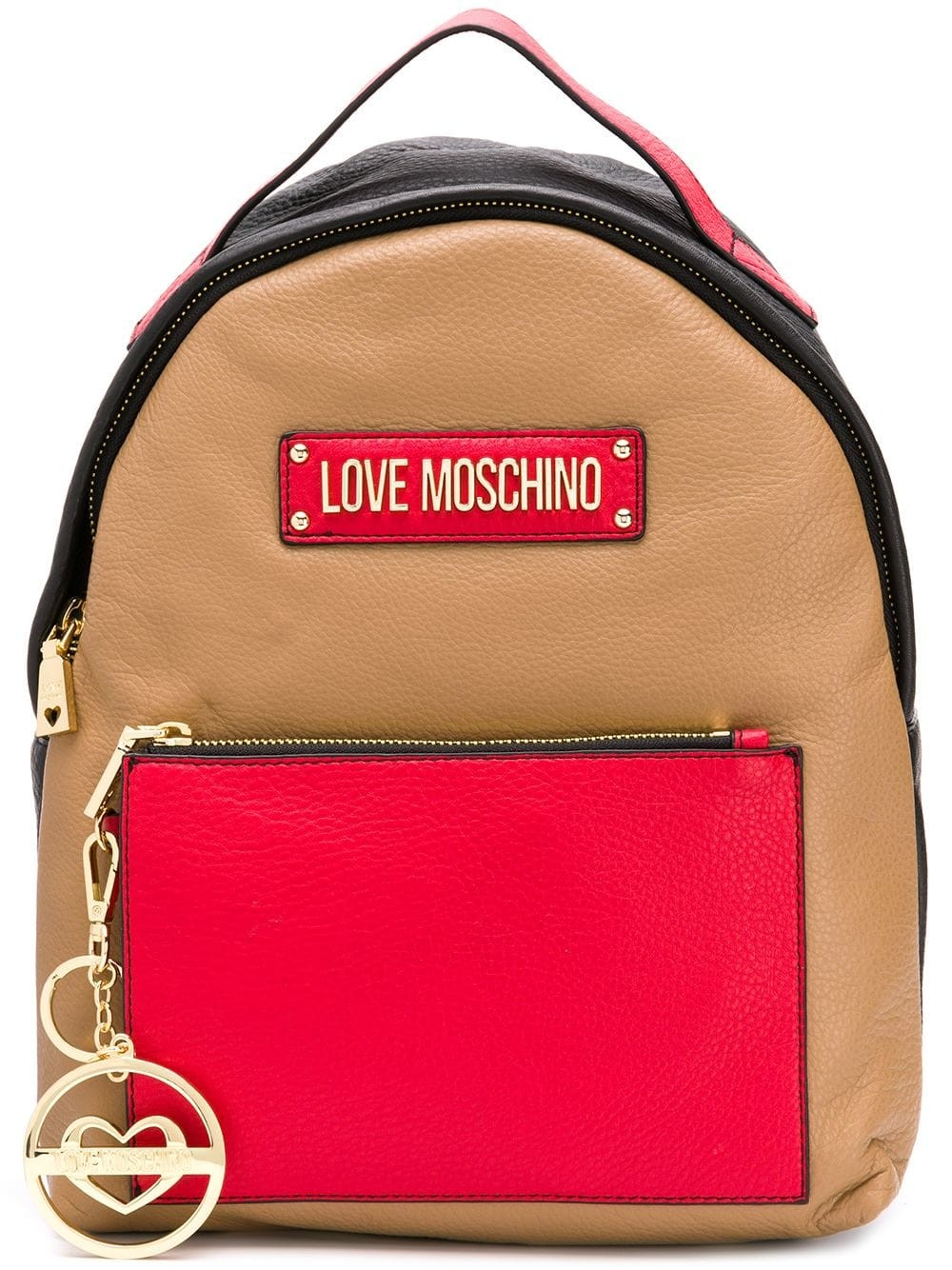 Love Moschino Logo Backpack Woman