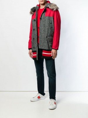 Checked Pattern Coat