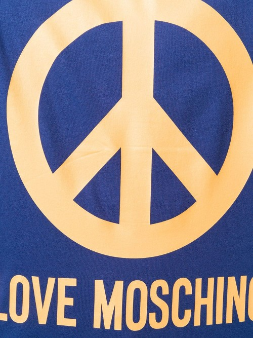 T-shirt LOVE MOSCHINO Electric blue