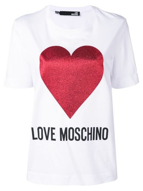 T-shirt LOVE MOSCHINO Optic white