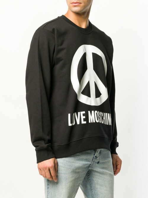 Felpa LOVE MOSCHINO Black