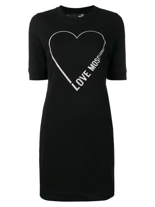 Abito LOVE MOSCHINO Black