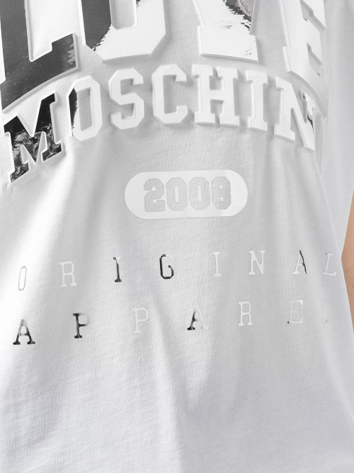 T-shirt LOVE MOSCHINO Optic white DONNA LOVE MOSCHINO A00 - Optic white