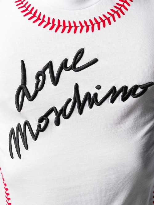 T-shirt LOVE MOSCHINO Optic white UOMO LOVE MOSCHINO A00 - Optic white