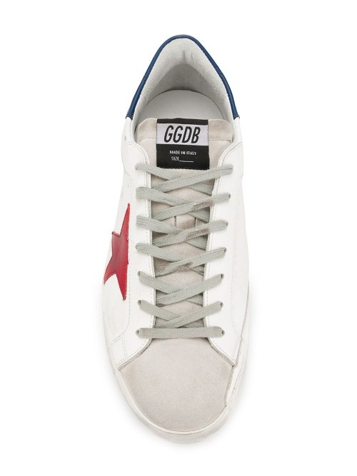 Scarpe GOLDEN GOOSE DELUXE BRAND White leather-red