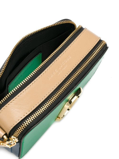 Borsa MARC JACOBS Green multi