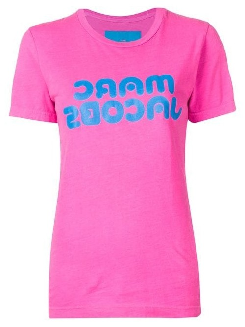T-shirt MARC JACOBS BRIGHT PINK