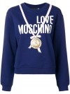 Felpa LOVE MOSCHINO Electric blue