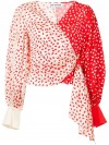 Top SELF PORTRAIT  DONNA SELF PORTRAIT CREAM RED -