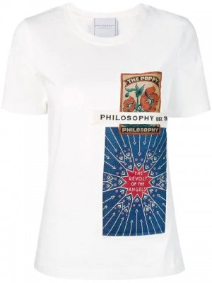 T-shirt PHILOSOPHY by LORENZO SERAFINI