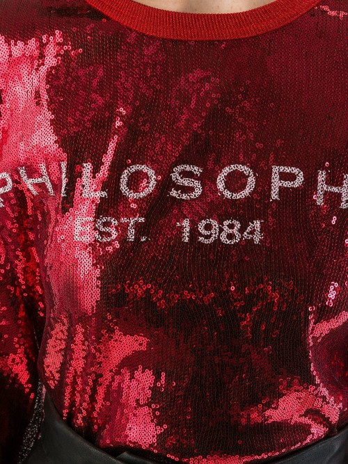 T-shirt PHILOSOPHY by LORENZO SERAFINI Rosso