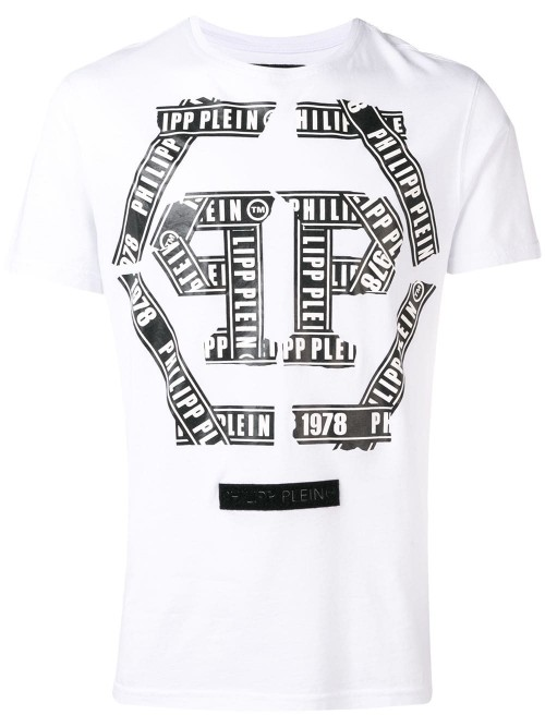 T-shirt PHILIPP PLEIN White UOMO PHILIPP PLEIN 01 - White
