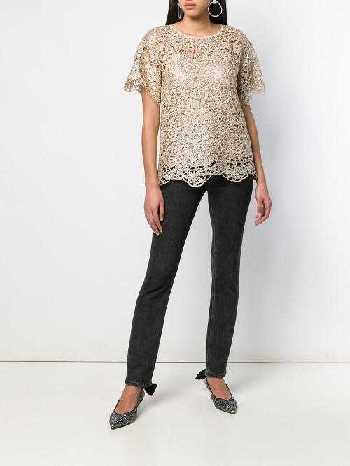 Blusa BOUTIQUE MOSCHINO Oro