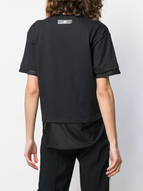 T-shirt ADIDAS BY STELLA MCCARTNEY Nero