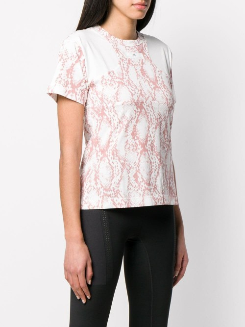T-shirt ADIDAS BY STELLA MCCARTNEY Bianco rosa