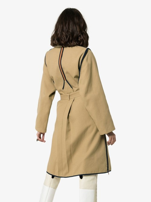 Cappotto SEE BY CHLOE Green orange