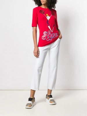 T-shirt LOVE MOSCHINO Red