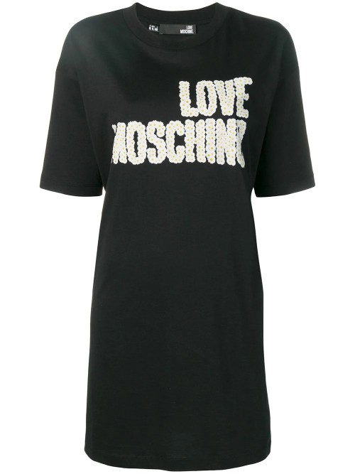 Abito LOVE MOSCHINO Black DONNA LOVE MOSCHINO C74 - Black