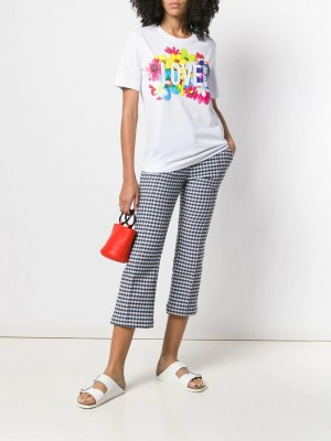 T-shirt LOVE MOSCHINO White