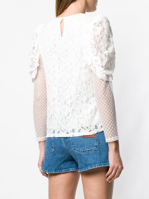 Top SEE BY CHLOE White DONNA SEE BY CHLOE 101 - White