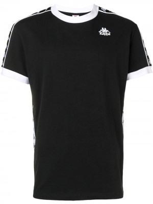 T-shirt KAPPA Black white