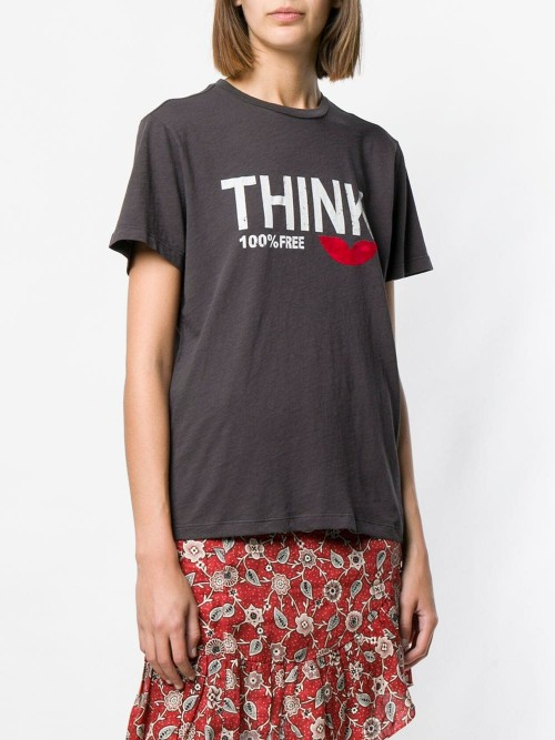 T-shirt ISABEL MARANT ETOILE Faded black