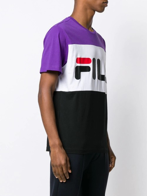 T-shirt FILA Black white UOMO FILA A178 - Black white