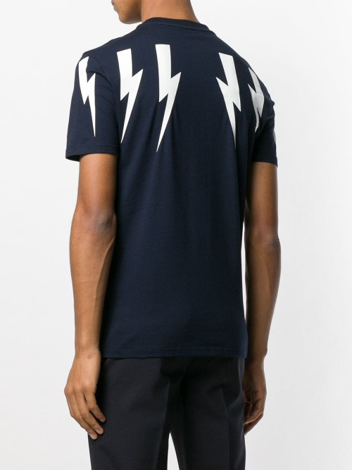 T-shirt NEIL BARRETT NAVY