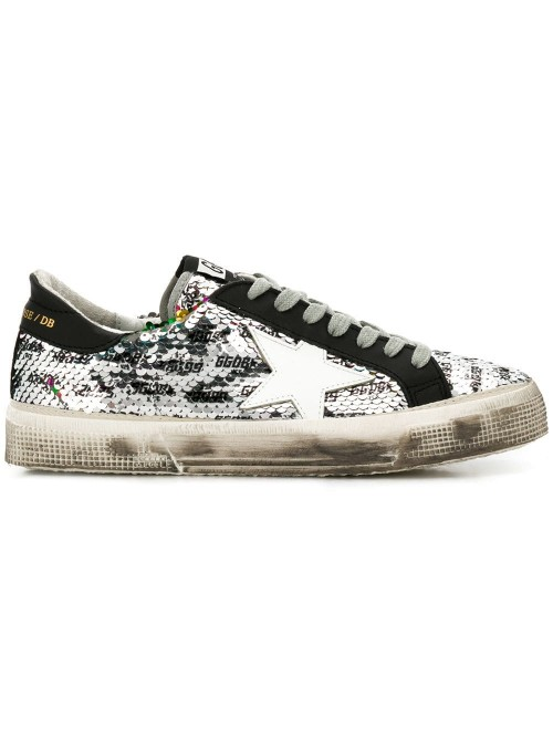 93a9565003295 Golden Goose Deluxe Brand - Sequins All Over - May Model - Sneakers ...