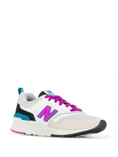 buy popular 2bfbd 725f2 Scarpe NEW BALANCE White purple black