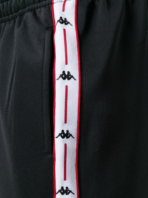 Pantalone KAPPA Black red white