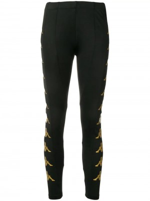 Pantalone KAPPA Black yellow